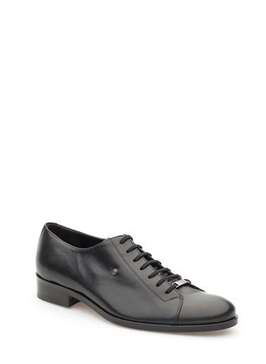 Pedro Camino Hakiki Deri Ayakkabı Siyah